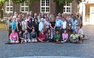 Participants at the 3rd ICUU Theological Symposium, Netherlands, July 2010